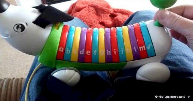 Singing dog toy left grandparents flabbergasted