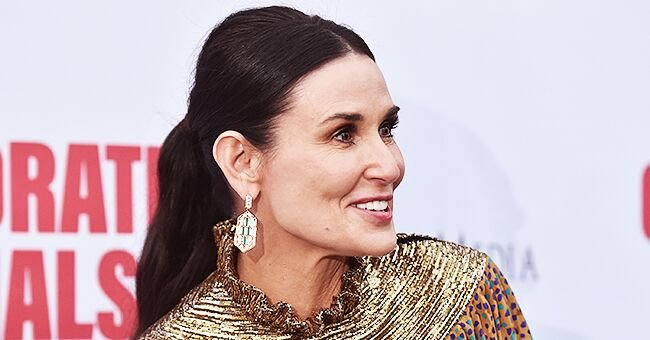 Demi Moore from 'Indecent Proposal' Shares Throwback Photo with Her 3 Daughters on Thanksgiving