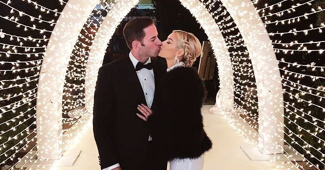 Tarek El Moussa of 'Flip or Flop' Fame Says His Heart Raced When He Saw Girlfriend Heather Ray Young in a White Dress