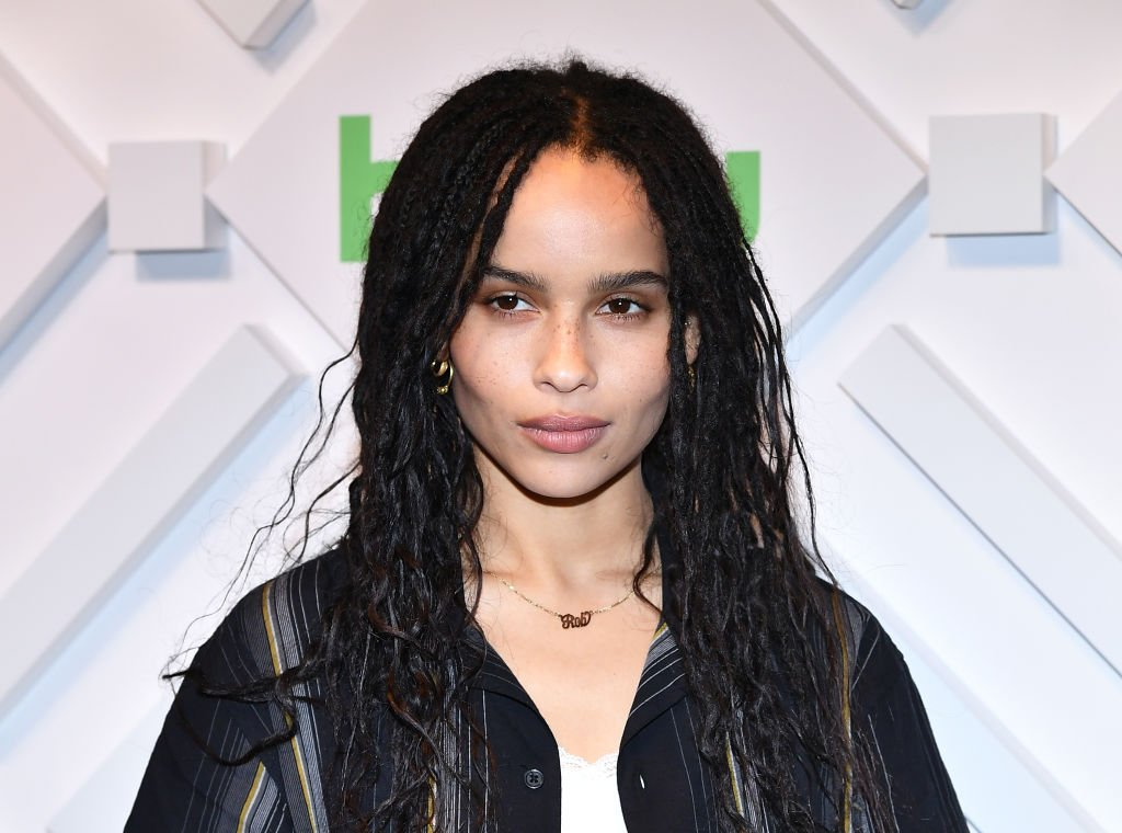 Zoe Kravitz attends 2019 Hulu Upfront at Scarpetta in New York City | Photo: Getty Images