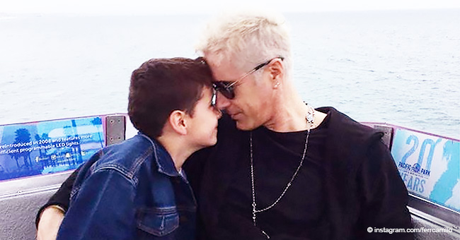 Expareja de Fernando Carrillo lo culpa de que su hijo sea víctima de bullying