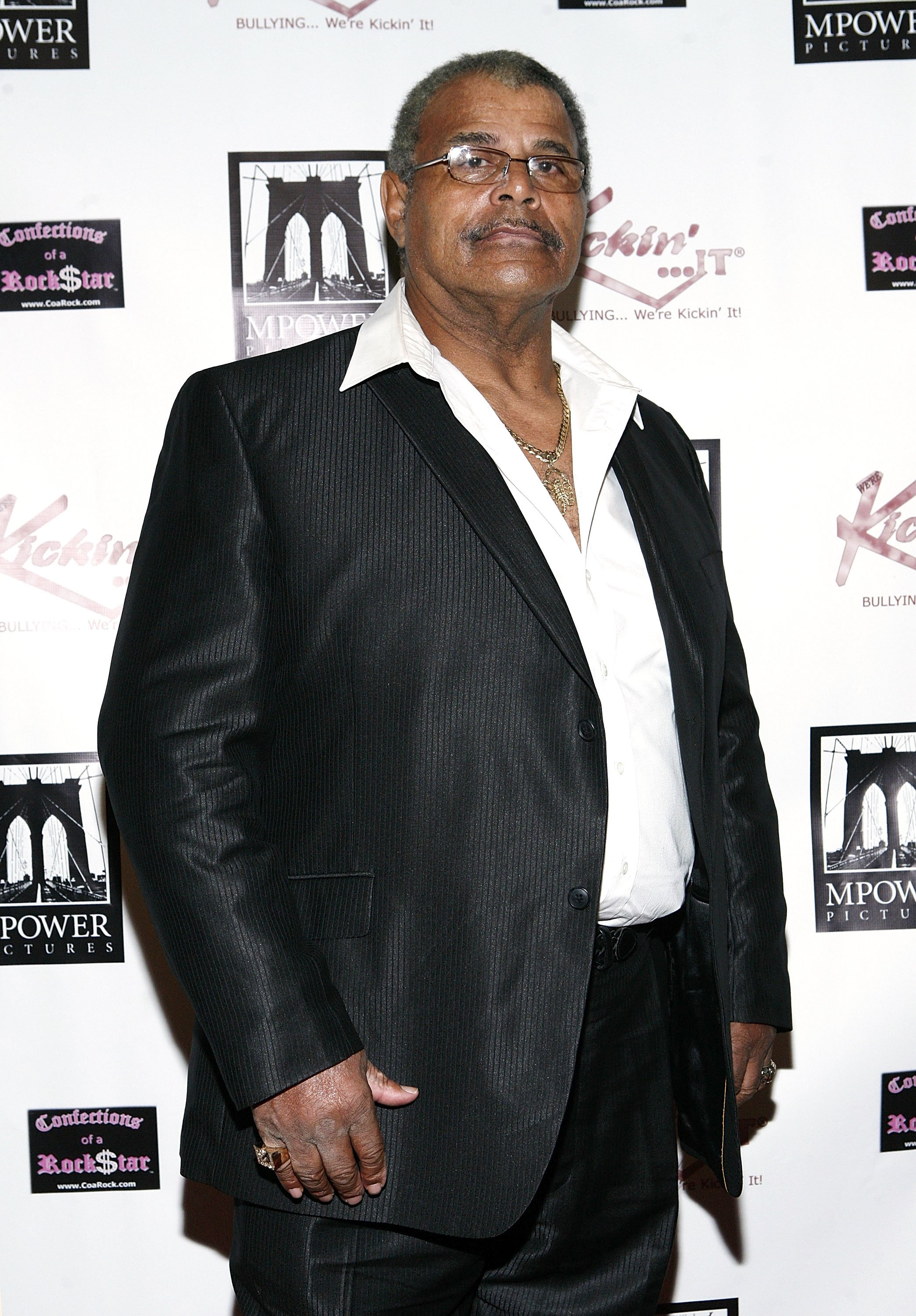 Rocky Johnson attends Unite in the Fight... to Knockout Bullying at the Hard Rock Cafe New York on October 20, 2011 | Photo: Getty Images