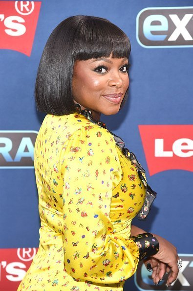 Naturi Naughton at The Levi's Store Times Square on October 10, 2019 | Photo: Getty Images