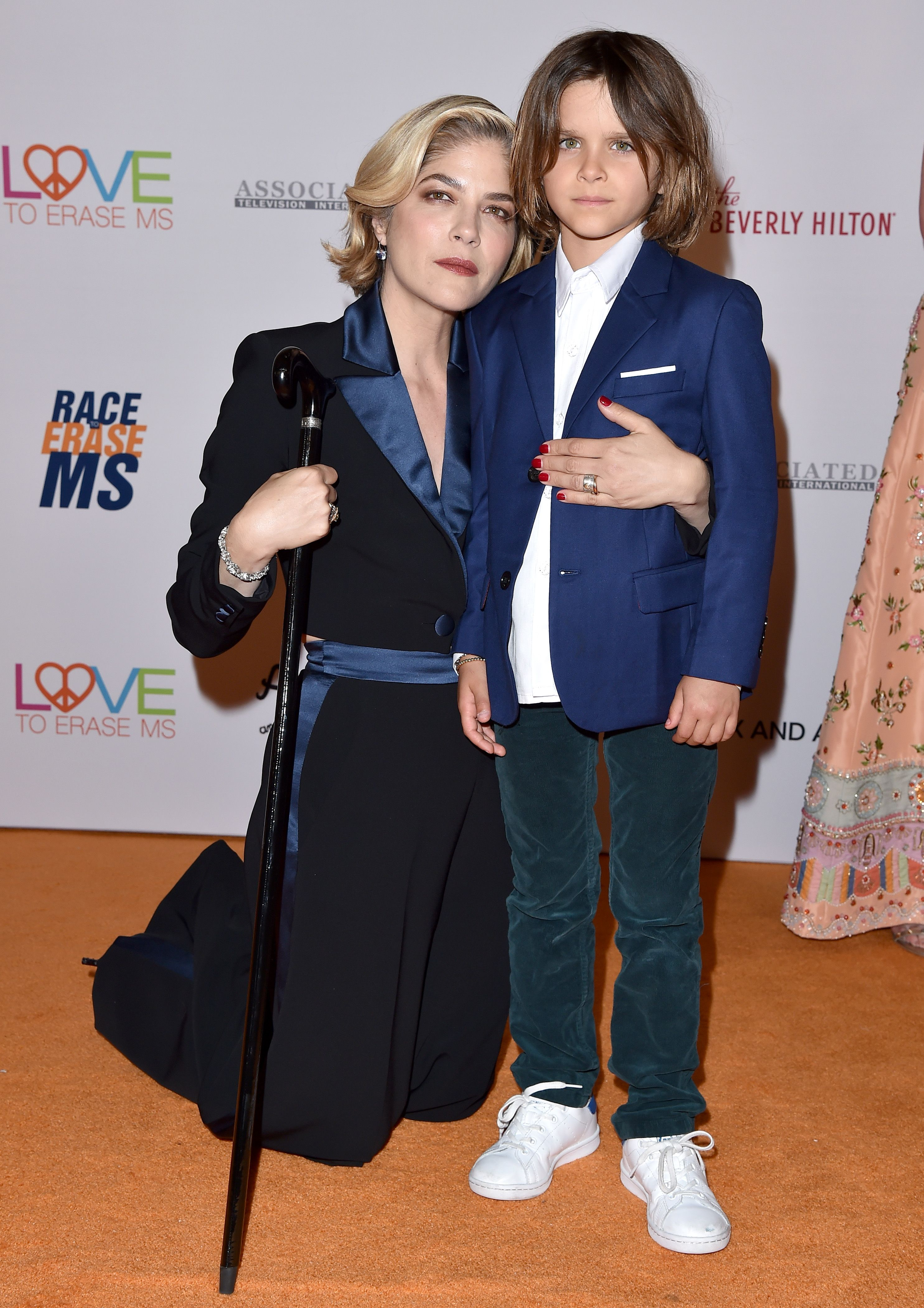 Selma Blair and son Arthur Bleick at the 26th annual Race to Erase MS in 2019 in Beverly Hills | Source: Getty Images