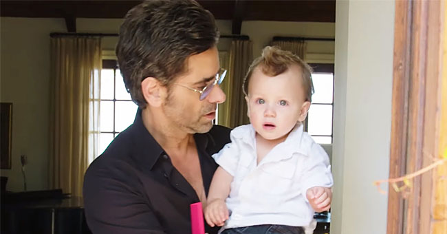 John Stamos Gives a Tour inside Luxurious $5.8 Million House with Son Billy in His Arms