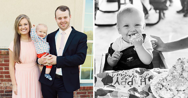 Joseph and Kendra Duggar Share Adorable Photos of Baby Son Garrett to Mark His Very 1st Birthday