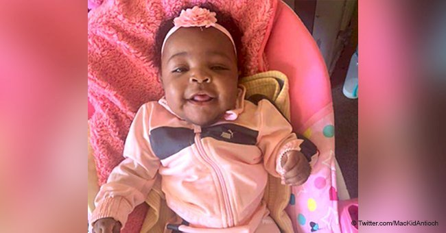 4-month-old kid taken at gunpoint by her father is missing