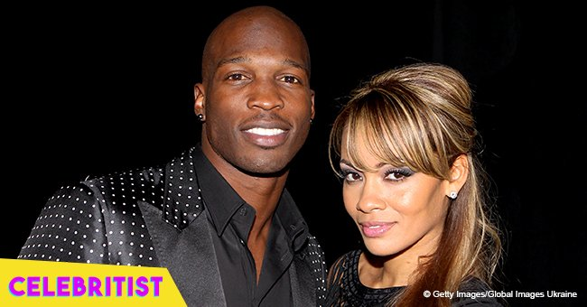 Evelyn Lozada's ex Chad 'Ocho Cinco' Johnson melts hearts in pic with grown daughters