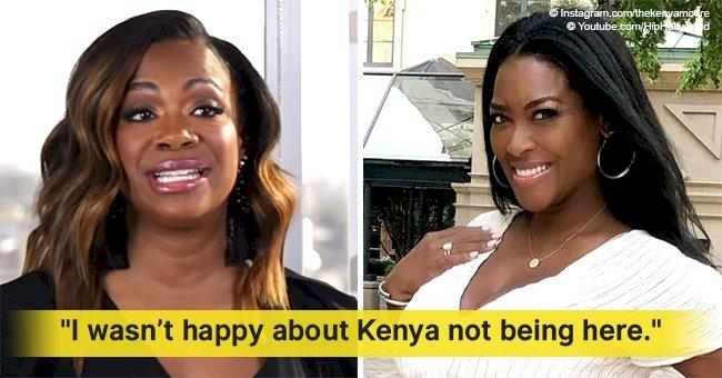 Kandi Burruss finally speaks up on Kenya Moore's possible return to RHOA