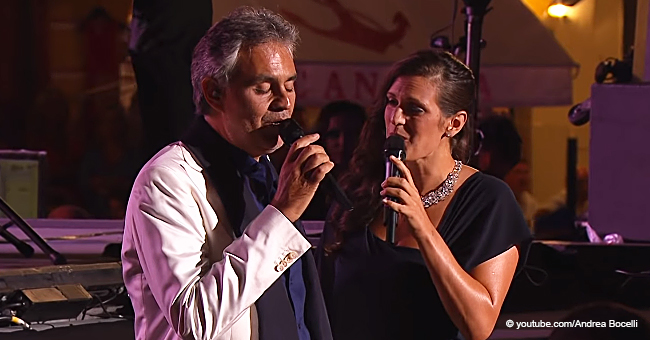 Did You Know Andrea Bocelli's Wife Can Also Sing? Their Family Duet Is Just Cuteness Overload