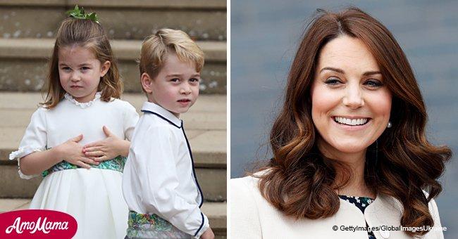 Charlotte et George sont si mignons que la Duchesse Kate ne peux pas s'empêcher de leur donner des surnoms adorables