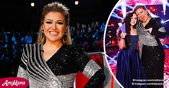Kelly Clarkson thanks 'The Voice' fans for changing Chevel's life calling it a 'blessing'
