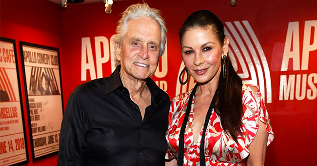 Catherine Zeta-Jones Spotted on an Outing with Michael Douglas