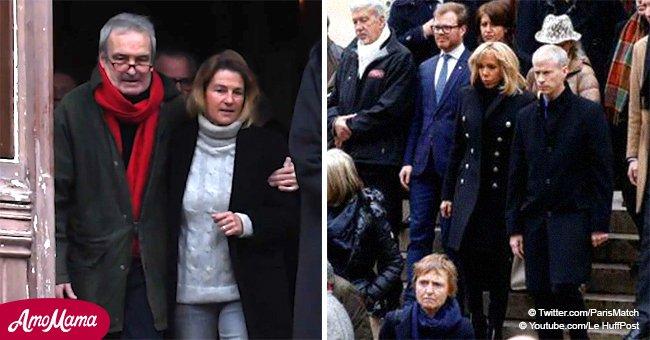 Les funérailles de Michel Legrand : son fils, ému, se confie sur les derniers jours de son père