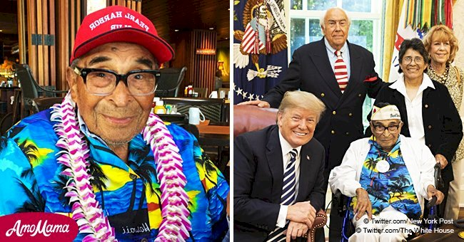 Oldest US military veteran and surviver of Pearl Harbor dies at age 106