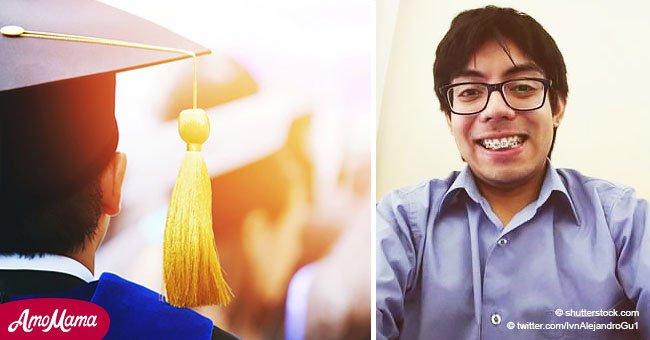Une mère très fière explique comment son fils autiste a obtenu son diplôme de génie informatique