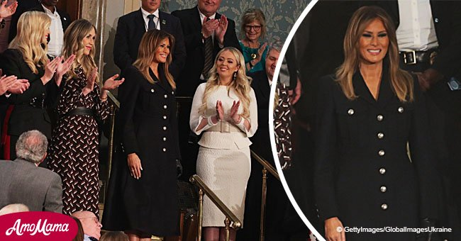 Melania Trump's stylist addresses claims of a 'hidden message' in her $2,390 SOTU outfit
