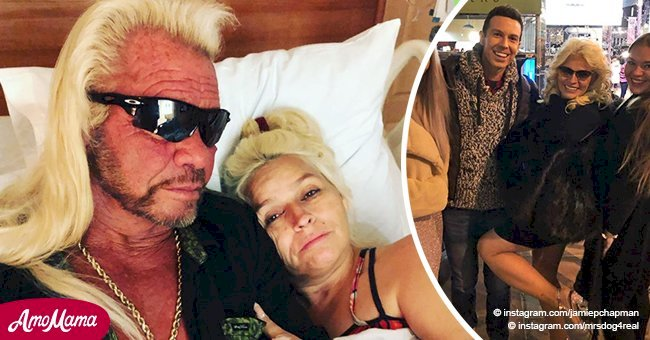 Beth Chapman flashes her gorgeous legs at stepson's birthday celebration amid cancer battle