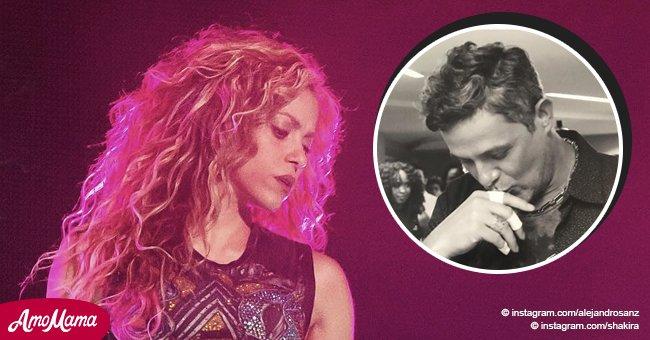 Shakira recibe apoyo emocional de Alejandro Sanz tras la muerte de un fan
