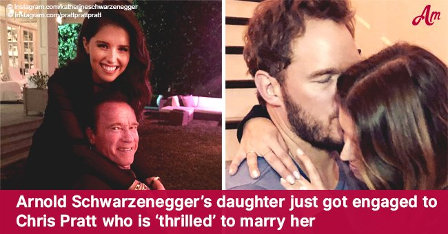 Arnold Schwarzenegger's daughter just got engaged to Chris Pratt who is 'thrilled' to marry her