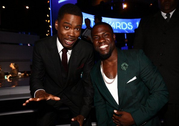 Chris Rock and Kevin Hart at Nokia Theatre L.A. LIVE on June 29, 2014 in Los Angeles, California. | Photo: Getty Images