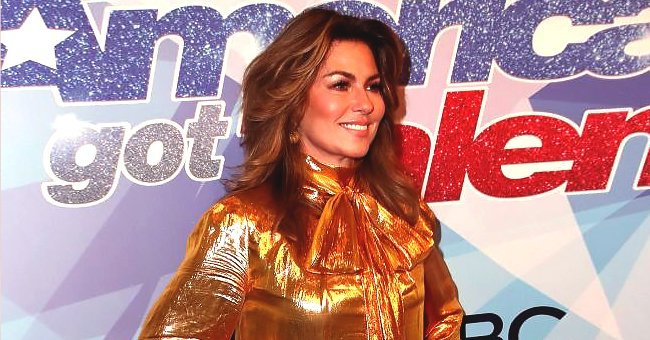 Shania Twain Shares Photo of Herself during Performance of Her Greatest Hits at the 2019 AMAs