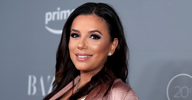 See How Big Eva Longoria's Son Santiago Is Getting in This Sweet Photo She Posted on Instagram