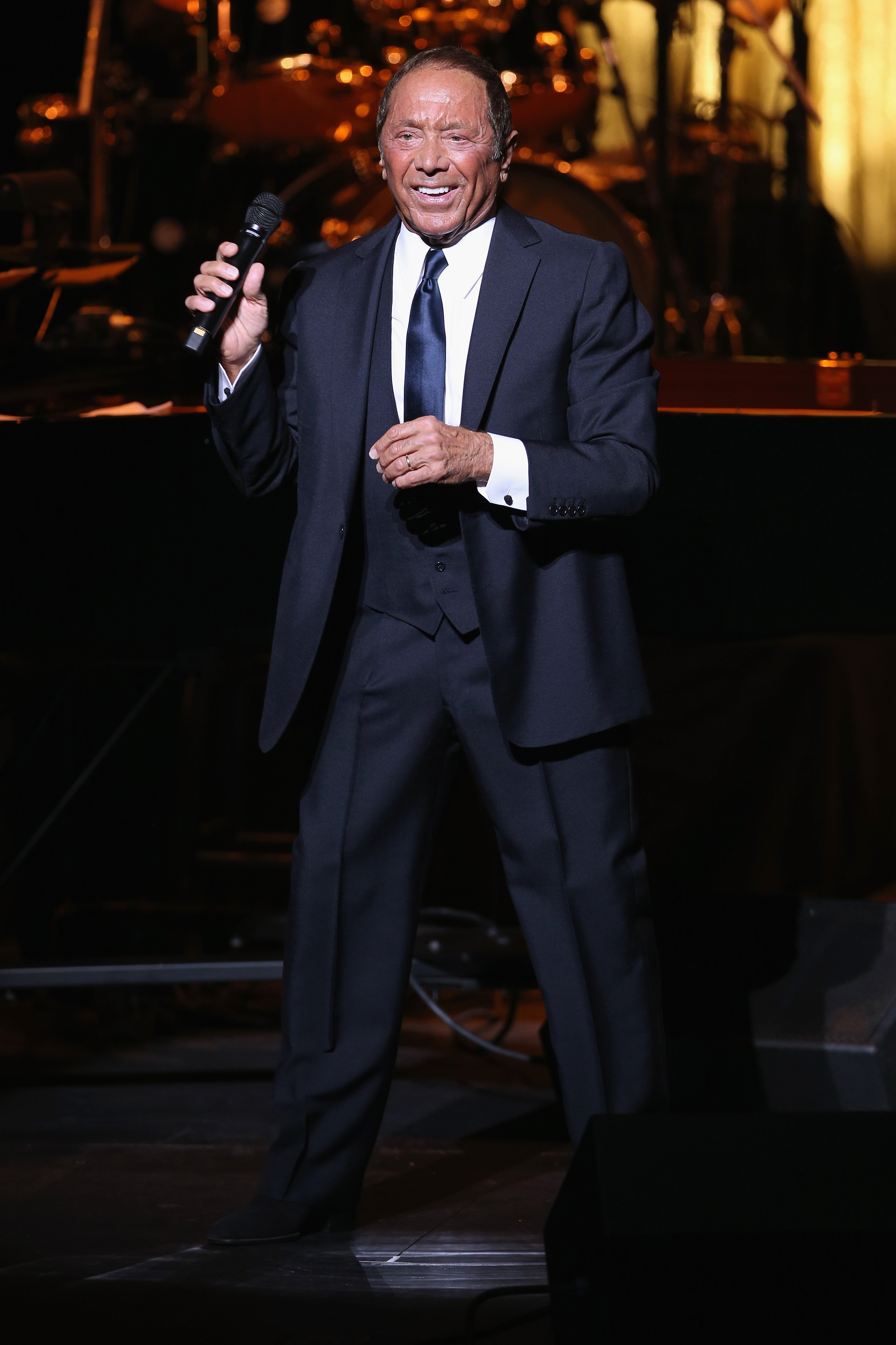 Paul Anka on August 26, 2017 in Thousand Oaks, California | Source: Getty Images