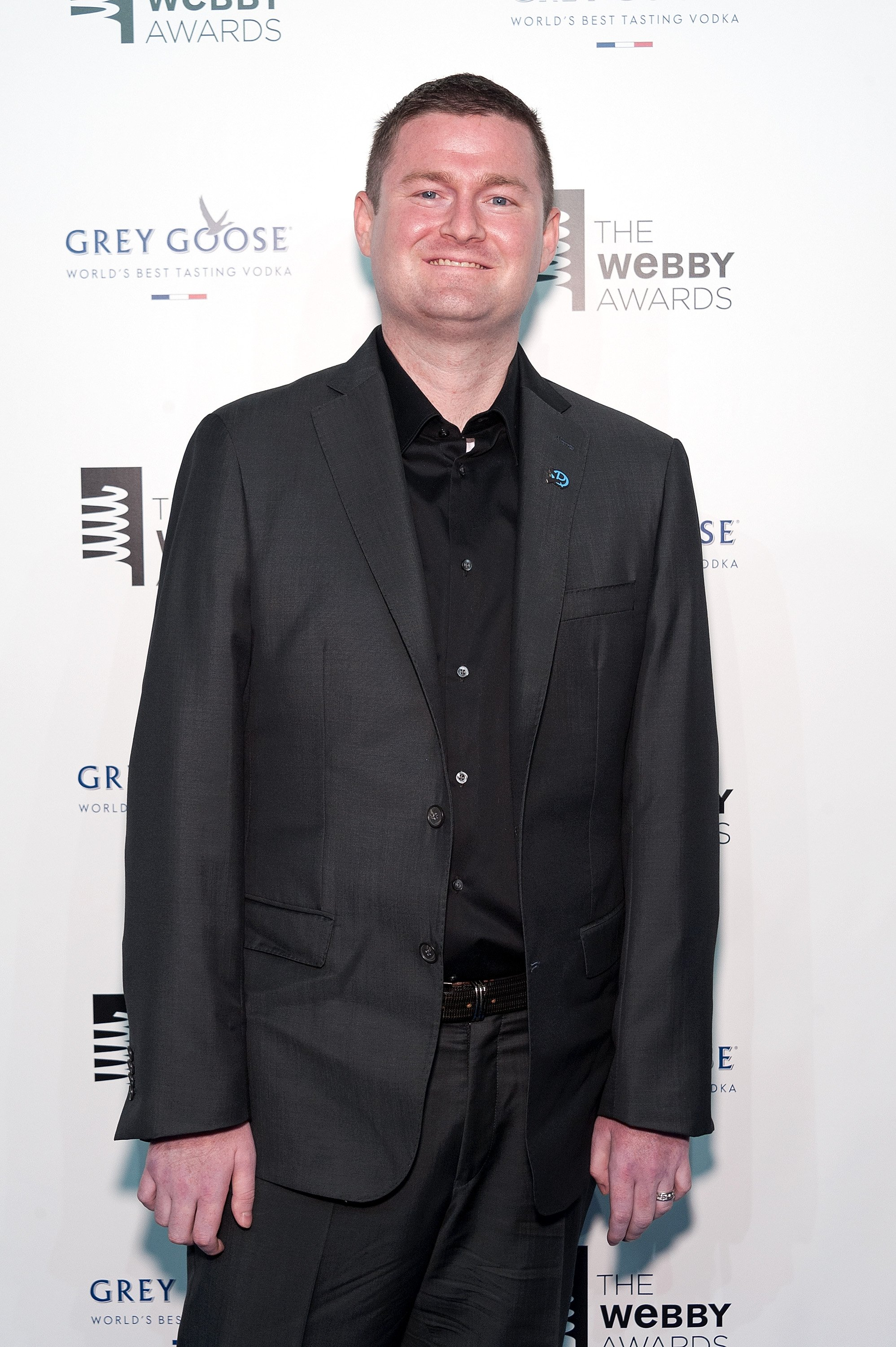 Patrick Quinn attends the 19th Annual Webby Awards on May 18, 2015, in New York City. | Source: Getty Images.