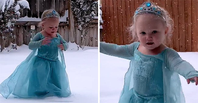 Texas Toddler Performs 'Let It Go' from 'Frozen' Movie Soundtrack after Seeing Snow