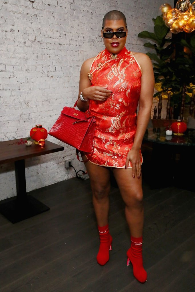 EJ Johnson attends Chinese New Year Celebration with Ezra William, Prabal Gurung, Laura Kim and Tina Leung at Wayan in New York City | Photo: Getty Images