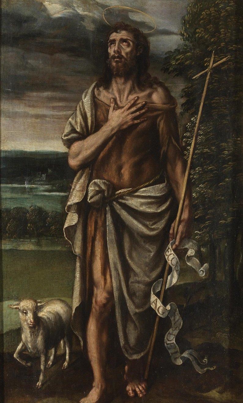 San Juan Bautista es considerado un santo y el último de los profetas.  Fuente: Wikipedia