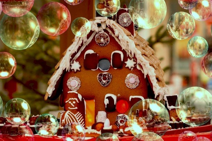 A hut designed for Christmas. | Photo: Pixabay
