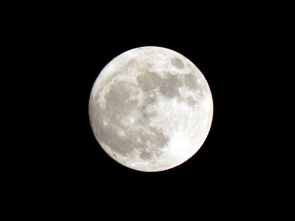 Vista de Superluna.   Imagen: Pixabay