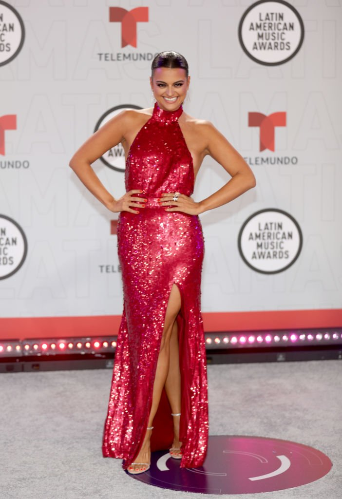 Alix Aspe en los Latin American Music Awards. | Foto: Getty Images.