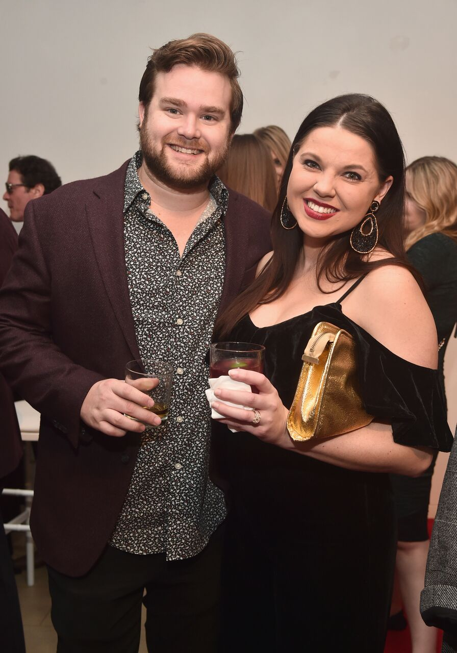 """Amy Duggar and Dillon King attend WE tv celebrates the return of """"Love After Lockup."""" 
