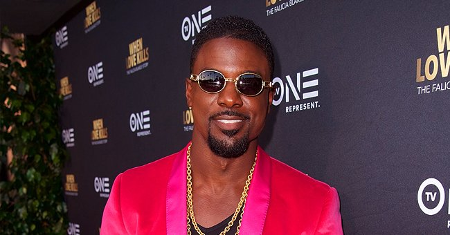 Lance Gross of 'House of Payne' Entertains His Daughter with Carton Slide (Video)
