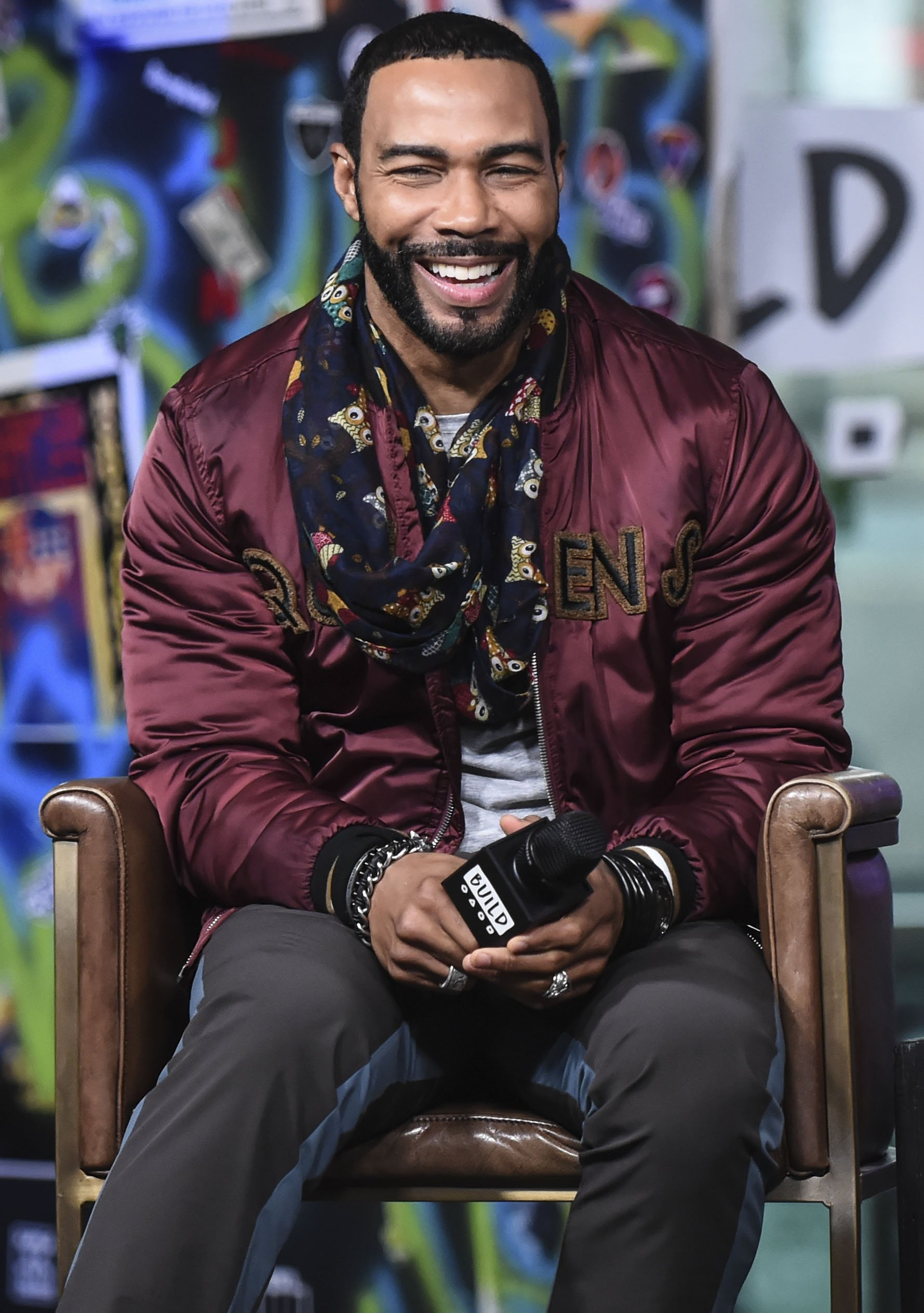 Omari Hardwick at discussing 'Nobody's Fool' at Build Studio in New York City on October 29, 2018.   Photo: Getty Images