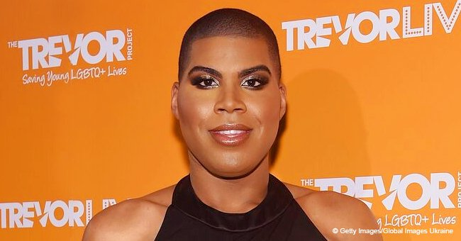 EJ Johnson leaves nothing to imagination in see-through dress and black jacket in new video