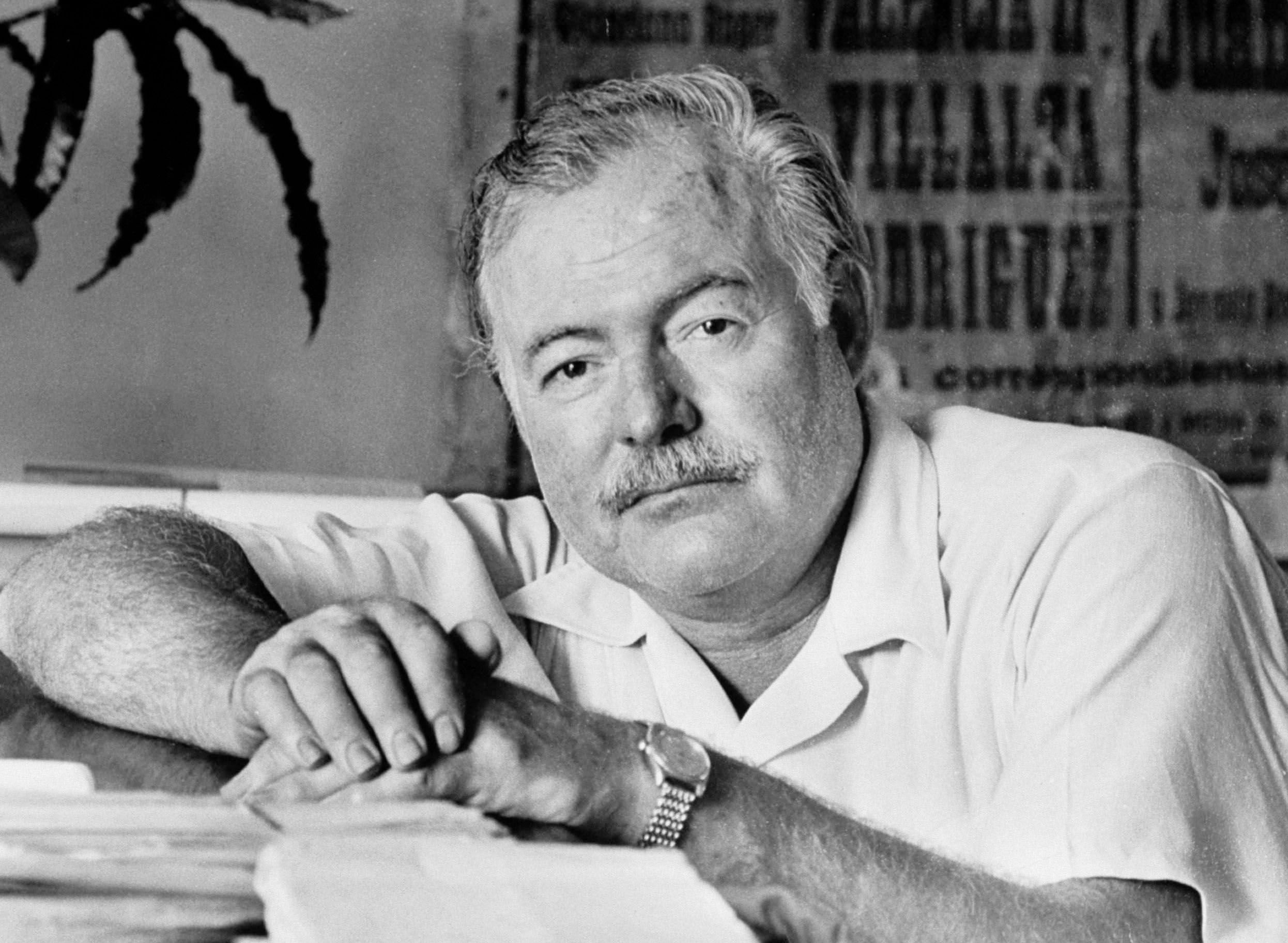 Author Ernest Hemingway | Source: Getty Images