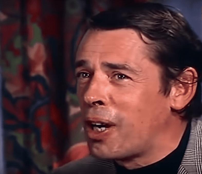Jacques Brel au cours d'une interview à Knokke en Belgique, en 1971.   Youtube/mr rammstein is life