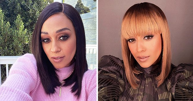 'Sister, Sister' Star Tia Mowry Looks Unforgettable Flaunting New Blonde Hair with Bangs