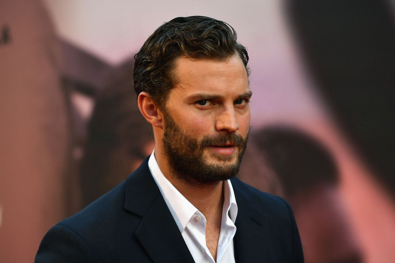 """Jamie Dornan at the European Premiere of """"A Private War"""" & Mayor of London gala during the 62nd BFI London Film Festival on October 20, 2018 in London, England 