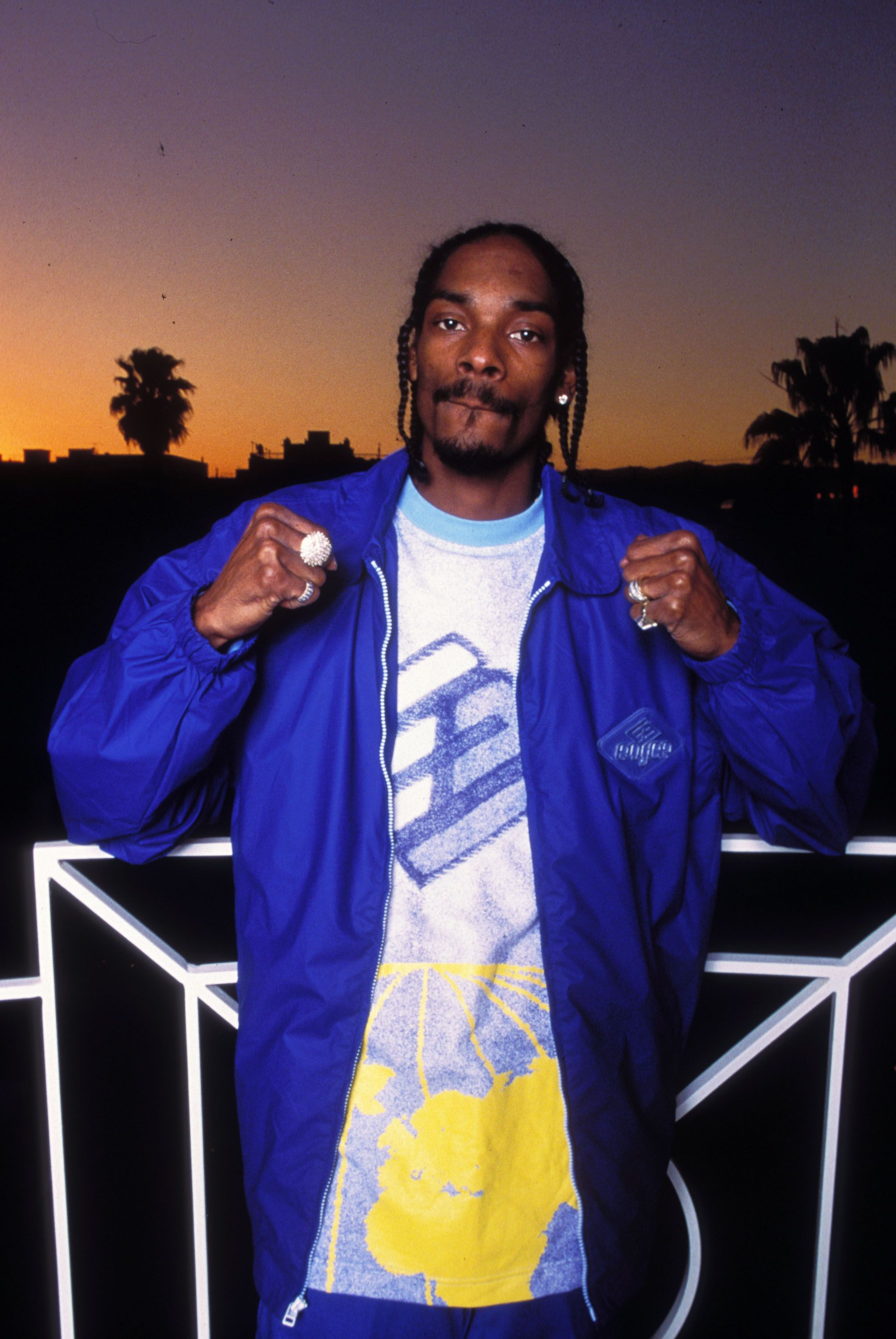 Snoop Dogg at the Four Seasons Hotel in Beverly Hills, California. | Source: Getty Images
