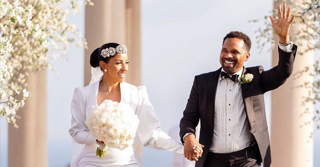 Mike Epps and New Wife Kyra Share Photos from Their California Wedding