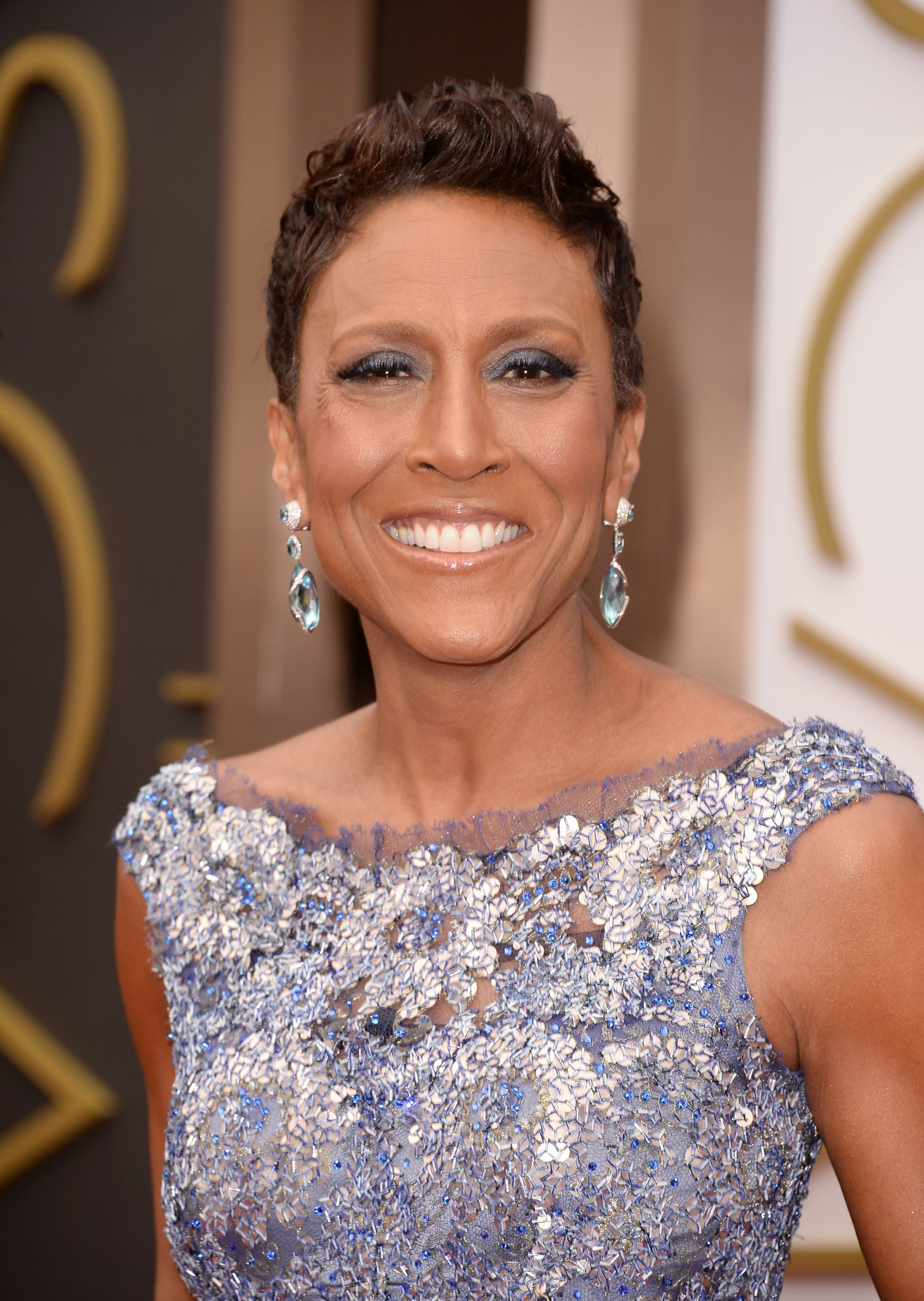 TV personality Robin Roberts at the Oscars held at Hollywood & Highland Center on March 2, 2014 in Hollywood, California. | Photo: Getty Images