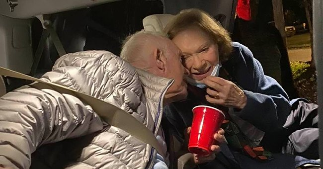 Jimmy Carter, 96, and Wife Rosalynn, 93, Photographed Sharing a Kiss in a Driveway – See the Sweet Picture Here