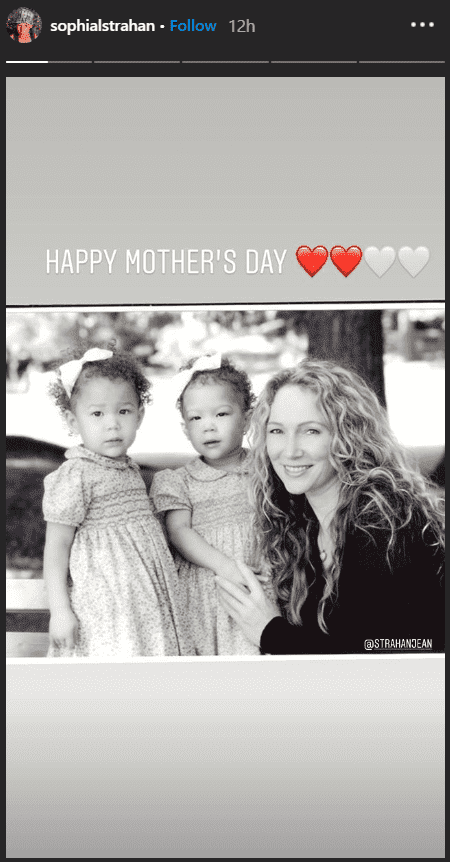 Isabella Strahan's Mother's Day greeting for Jean Muggli | Source: Instagram/ Isabella Strahan