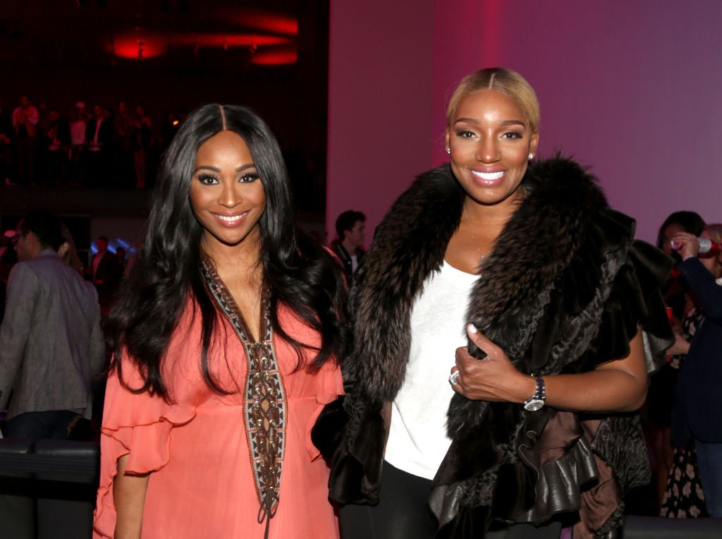 Cynthia Bailey and NeNe Leakes in February 2017. | Photo: Getty Images