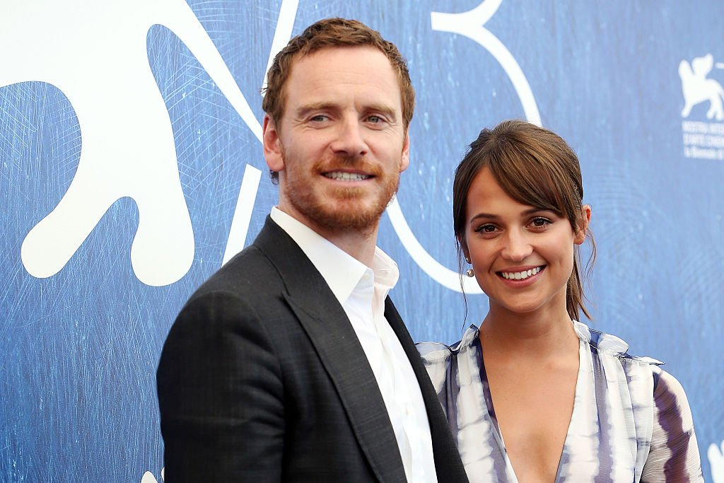 Alicia Vikander and Michael Fassbender during the 73rd Venice Film Festival on September 1, 2016   Photo: Getty Images